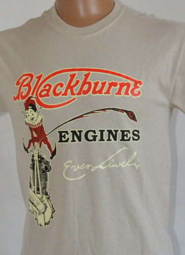 Blackburne Engine T Shirt Ever Lively vintage motorcycle Banbury run vmcc imp
