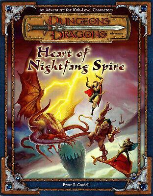 Cuore Di Nightfang Guglia Avventura Per D&d 3rd Edizione (dungeons & Dragons)-mostra Il Titolo Originale