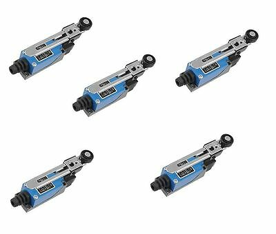 5x pcs Roller Arm Type AC Limit Switch For CNC Mill Laser Plasma ME-8108