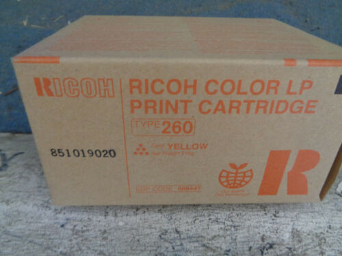 Genuine Ricoh Type 260 High Capacity Yellow Toner Cl 7200 7300