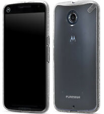 PureGear Clear Slim Shell Case Hard Transparent Cover for Motorola Nexus 6