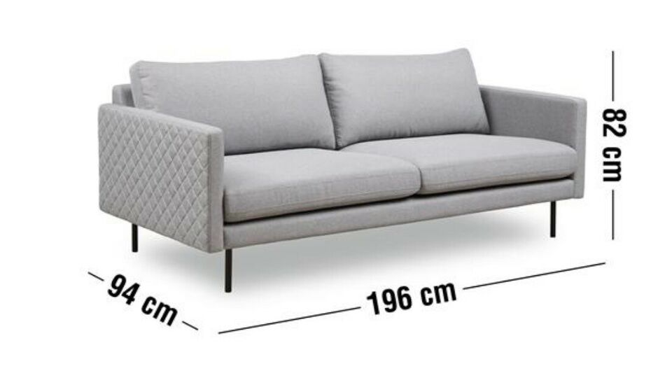 Sofa, 3 pers. , ilva