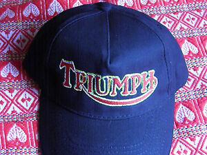 Casquette Logo Triumph Broderie Artisanale Pwztegpk-07232931-999358028