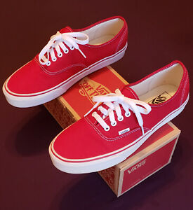 Vans Authentic Old Skool Red White Size 11 Visit Our Ebay Store Ebay