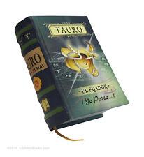 "signo Tauro en español new collectible small 2.65"" tall book easy to read hardcv"