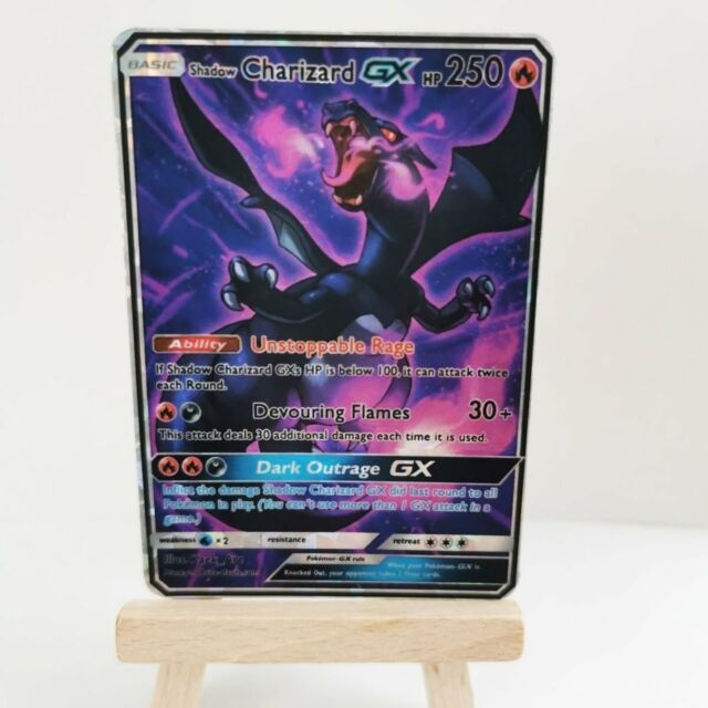 Shadow Charizard GX - Custom Pokemon Card