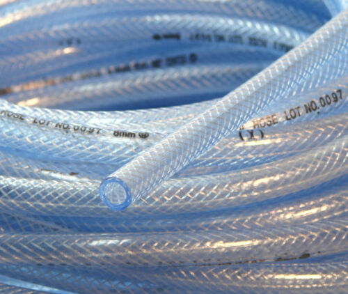 10 Metres High Pressure Gas Fuel Oil Injection Line Braid Tubing 12mm I//D Hose