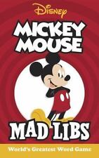 Mad Libs: Mickey Mouse Mad Libs by Mickie Matheis (2017, Paperback)