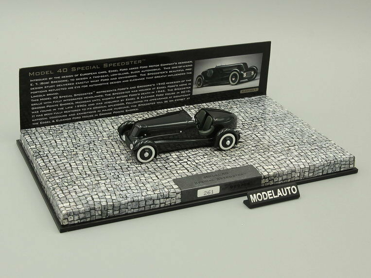 Minichamps 1 43  Ford Edsel's  Roadster 1934 pearl essense gun metallic