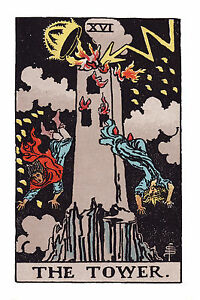 Image result for the tower tarot