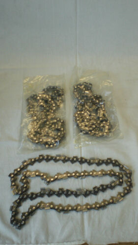 "15/"" Chain Saw chain.325x.058x 64 DL Fits Husqvarna Jonsered 3 pack Chisel chain"