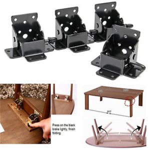 Diy Folding Table Legs.Details About Copper Locking Folding Bracket Folding Table Leg Hinges Furniture Hardware Diy
