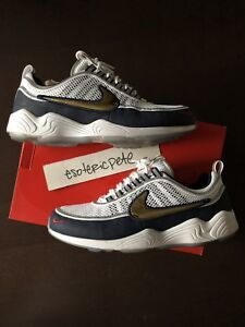 72fa35ee970b SZ 11 NIKE AIR ZOOM SPIRIDON OLYMPIC 849776 174 white 300 retro box ...