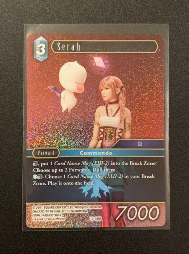 Serah 10-035R Opus X Final Fantasy TCG