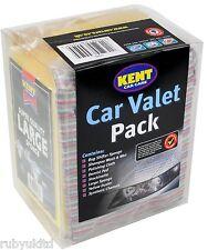 Kent Car Care Limpieza Valet Pack-Kit Conjunto de Regalo De Lavado-Esponja Champú Pad G555