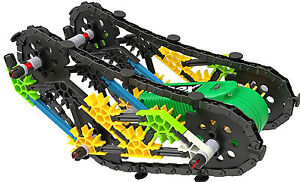 KNEX LIMITED PARTNERSHIP GROUP Crusher Tank Build Set 13127
