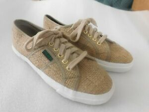 Save The Earth Vintage 1990/'s Sunsports Hemp Sneakers Women/'s 5 1//2 New NOS