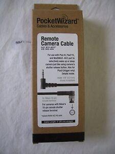 """Pocket Wizard 802-454 N10-ACC Nikon 10 Pin Camera Cable """"NEW"""""""