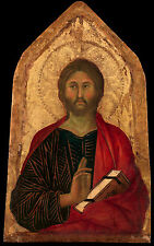 Fine Art Print of Religious Icon: Christ Blessing