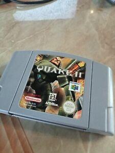 N64 Quake 2 II-Buen Estado-Probado