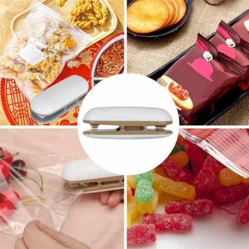Details about  /Portable Mini Plastic Heat Sealing Sealer Machine Impulse Handheld Food Poly Bag