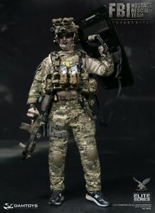1//6 Scale Toy Hostage Rescue Team-Male Head Sculpt