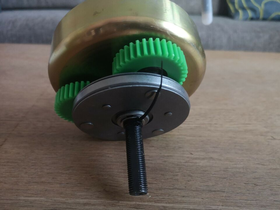 Elcykel-udstyr, Baghjulsmotor