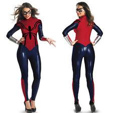 Halloween Spider Women Super Hero Costume fancy dress Cosplay bodysuit