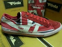 Gola Women's Shoes Quota Union Jack Red/nvy/wht Fashion Sneaker (size Up Please)