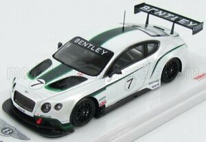 TRUESCALE 1/43 BENTLEY   CONTINENTAL GT3 GOODWOOD FESTIVAL OF SPEED 2013   WH...