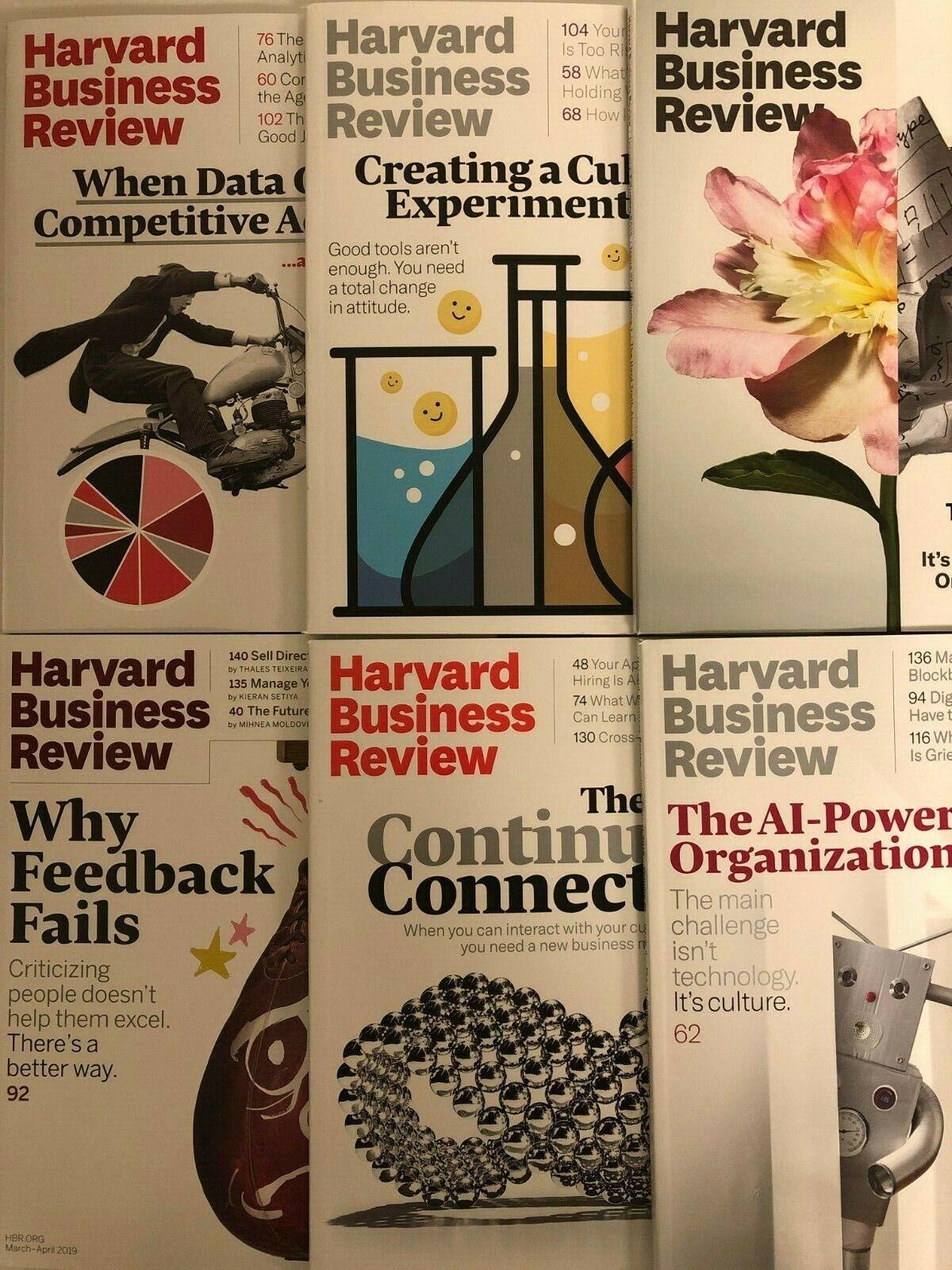 Harvard Business Review HBR Magazines, 1992 thru 2020 (Your Choice) 2