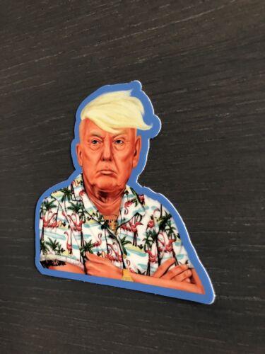 Donald Trump Vinyl Sticker Hawaiian Style Don High Quality President USA
