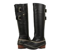 womens sorel slimpack boots shale 8 5 ebay