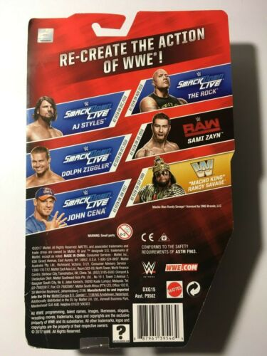 """WWE The Rock /""""SMACKDOWN Live Series 76 New MOSC"""