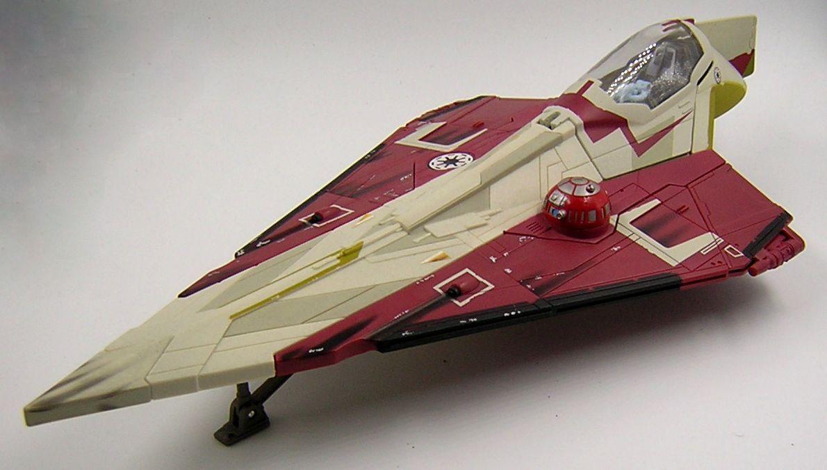 Star Wars Loose Obi Wan Kenobi Jedi Starfighter SAGA Episode II