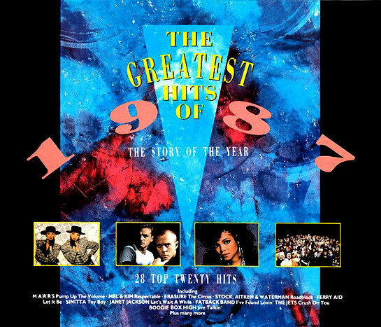 >> (80s) THE GREATEST HITS OF 1987 / VARIOUS ARTISTS - 2 CD SET