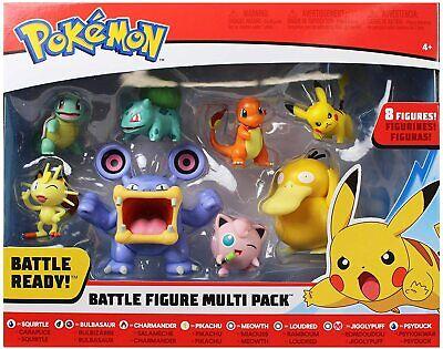 New for 2020 Gotta Catch 'Em All New Pokemon Battle Figure Multi 8 Pack Toys