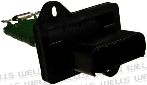 HVAC Blower Motor Resistor WVE BY NTK 4P1329