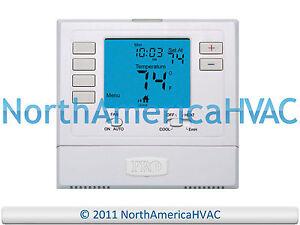 Pro1 IAQ T725 Digital 5/1/1 Day Programmable Heat Pump Thermostat 2H ...