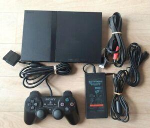 Console Sony Playstation 2 PS2 Slim + 1 Manette + Câbles - NTSC-J JAP JAPAN TBE