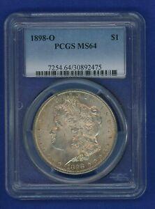 1898-O-PCGS-MS64-Morgan-Silver-Dollar-1-Better-Date-1898-O-MS-64-Super-PQ