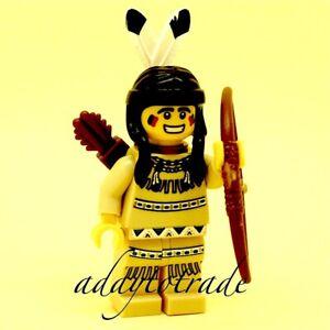 Lego Collection Mini Figure series 1 Tribal Hunter - 8683-1 COL001 R10