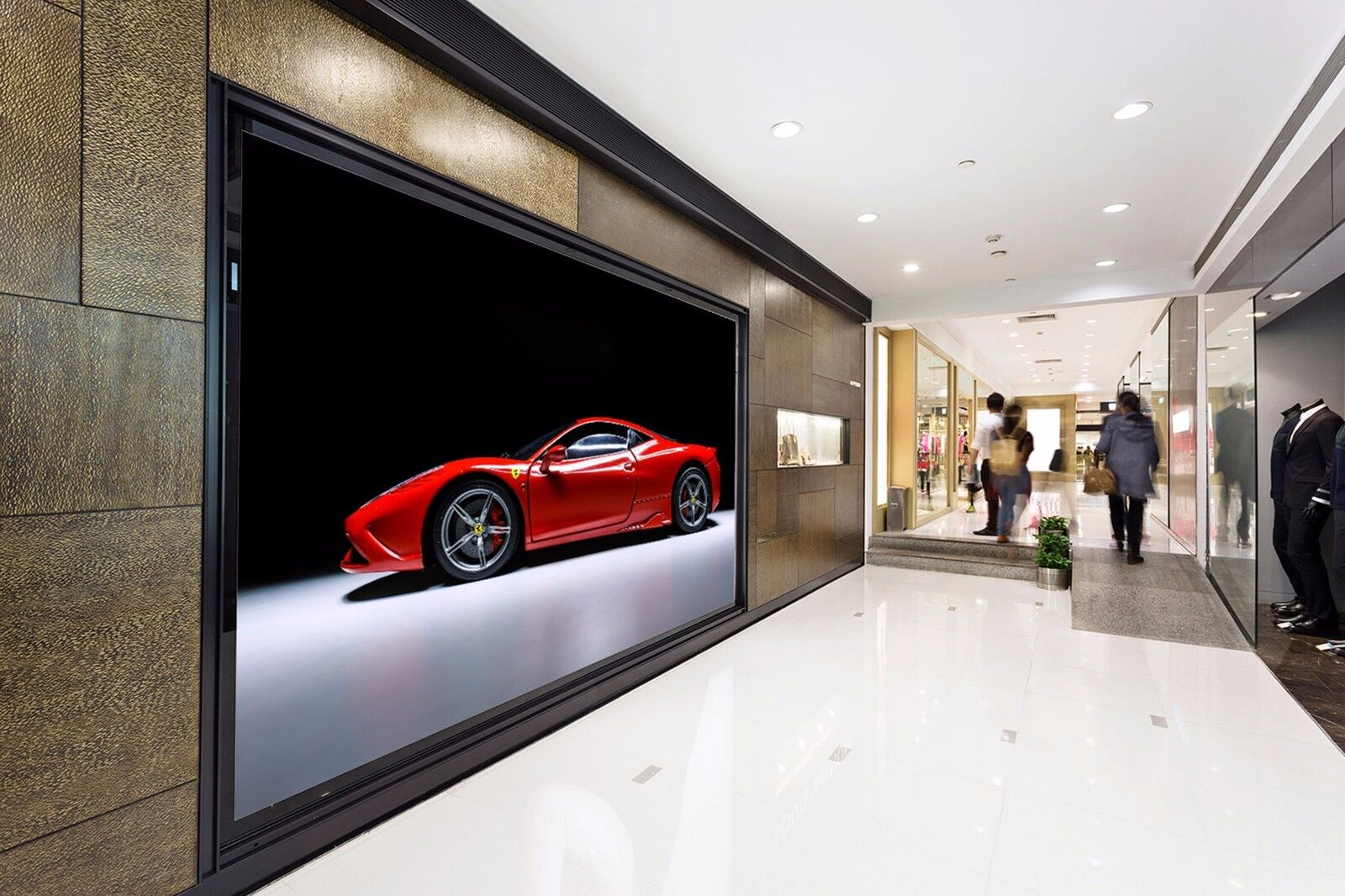 3D ROT sports car 243 Wall Paper Wall Print Decal Wall Deco Indoor Wall Murals