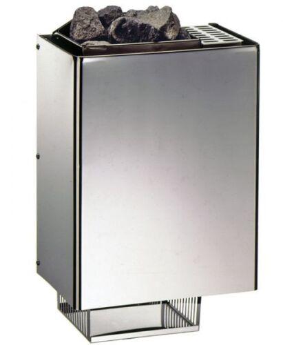 EOS Saunaofen 230V Mini 3 kW inkl Saunasteine Wand Saunaofen für Saunen bis 5m³