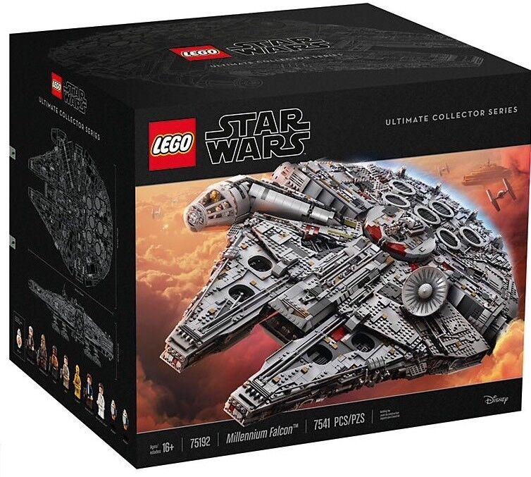Lego Star Wars Millennium Falcon 75192 UCS, Nuevo Y Sellado