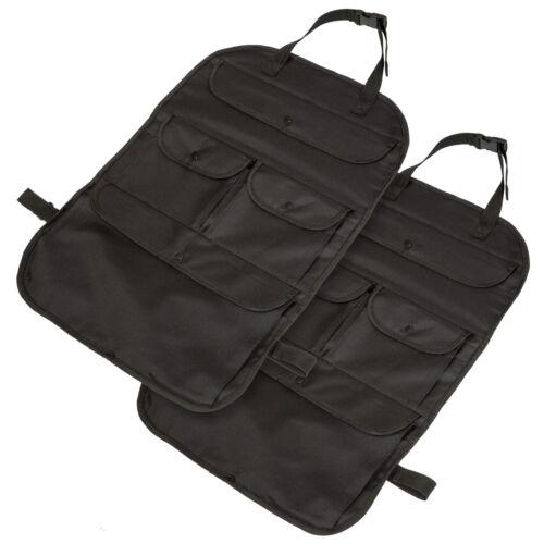 2xSedile posteriore organizer auto per sedile posteriore portaoggetti sacca nero