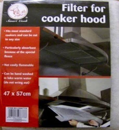 57 x 47 cm UNIVERSEL Pour Hotte De Cuisinière Filtre Extracteur Plaque Filtre graisse Extraction