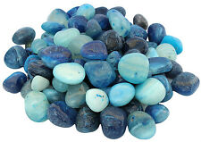 Pebbles Glossy Home Decorative Vase Fillers Blue Stone &  Vastu stones, 1 KG
