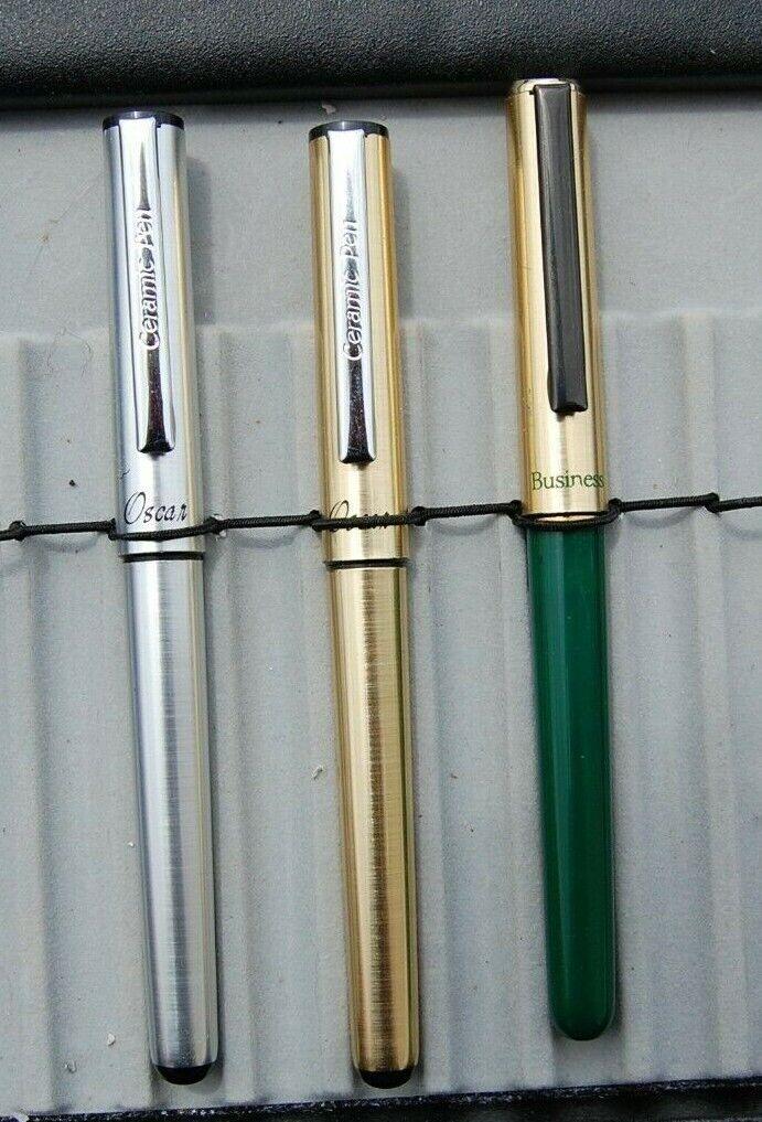 10x Ballpoint Pen Refills 0.5mm Overstriking Gel Black Ink Refill Pens