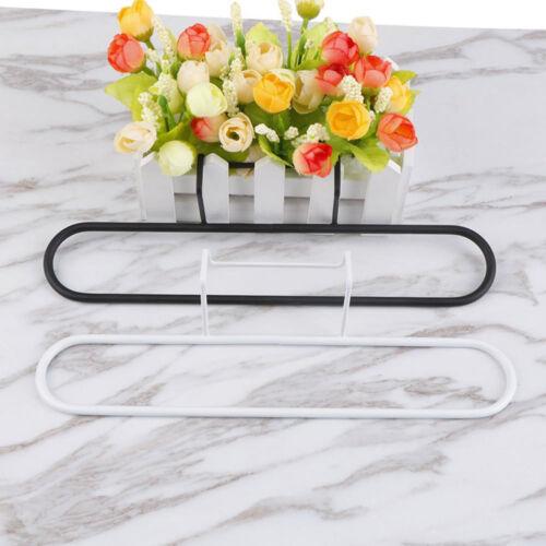 QA/_ Kitchen Iron Over Door Tea Towel Holder Rack Rail Cupboard Hanger Bar Hook